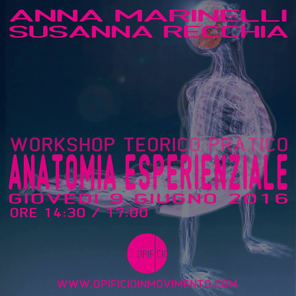 WORKSHOP ANATOMIA 9 GIUGNO